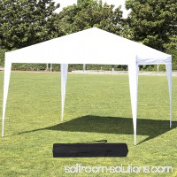 10'X10' Instant Foldable Pop Up Canopy Tent Folding Gazebo Tent W/ Carrying Bag