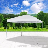 Cloud Mountain Pop Up Canopy Tent 10' x 10' UV Coated Outdoor Garden Gazebo Tent Easy Set Up with Carry Bag