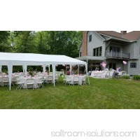 Ktaxon 10'x30' Party Wedding Outdoor Patio Tent Canopy Heavy Duty Gazebo Pavilion Event with 5 Wall