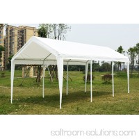 Quictent Carport Tent 10'x20' Large Car Canopy Window Style Sides