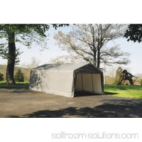 Shelterlogic 13' x 20' x 10' Peak Style Carport Shelter 554796435