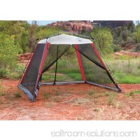 Coleman 10'x10' Slant Leg Instant Canopy/Screen House (100 sq. ft Coverage) 555280314