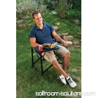 Coleman Aluminum Deck Chair with Swivel Table 551867308