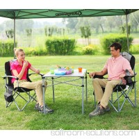 Lumbar Support Lightweight Portable Heavy Duty Folding Deluxe Large Size Camping Chair, Carry Bag Included 567240260