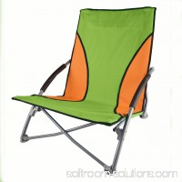 Stansport Low Profile Fold Up Chair Lime and Orange 553244472