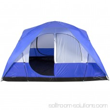 Best Choice Products 5-Person Weather Resistant Dome Camping Tent w/ Carrying Bag - Blue
