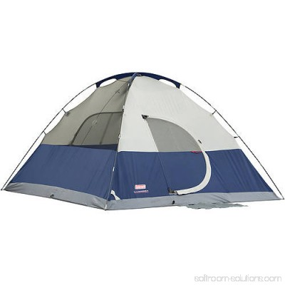 Coleman Elite Sundome 6-Person Tent with LED Light, 12' x 10' 552253204