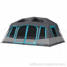 Ozark Trail 10-Person Dark Rest Instant Cabin Tent 555487359