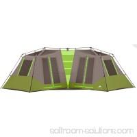 "Ozark Trail 23' x 11'6"" Instant Double Villa Cabin Tent, Sleeps 8, Green   554230053"