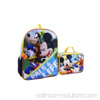 DISNEY MICKEY MOUSE PALS 4 LIFE BACKPACK WITH LUNCH 567391564