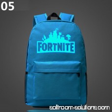 Hype Fortnite Game Battle Royale Backpack Rucksack School Bag Camping Hiking HOT