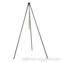 Lodge 60 Inch Camp Dutch Oven Tripod, 5TP2, with 36 Inch Chain 552644836