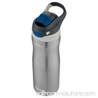 Contigo AUTOSPOUT Chug Chill Water Bottle, 20 oz., Stainless Steel/Monaco Lid 567426671