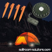 Atak Lighted Tent Stakes Set Wireless 80 Lumen LED Lamp With Remote Camping 382