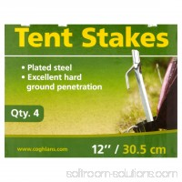 Coghlan's 12 Steel Tent Stakes 552409008
