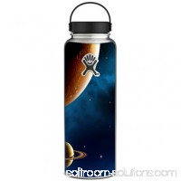 Skin Decal For Hydro Flask 40 Oz Wide Mouth / Planets Rings Outer Space
