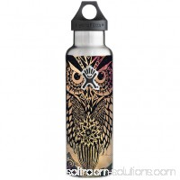 Skins Decals For Hydro Flask 21Oz Standard Mouth / Tribal Abstract Owl