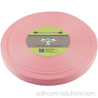 Country Brook Design® 1 Inch Pastel Pink Polypropylene (Polypro) Webbing