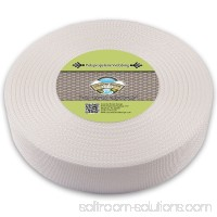 Country Brook Design® 2 Inch White Heavy Polypropylene (Polypro) Webbing