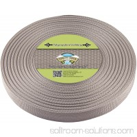 Country Brook Design® 1 Inch Silver Polypropylene (Polypro) Webbing