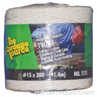 Rope,300ft,Wht,1lb.,Cotton