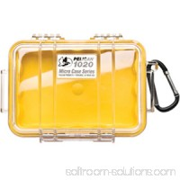 PELICAN 1020 MICRO CASE YELLOW WITH CLEAR LID   552023699