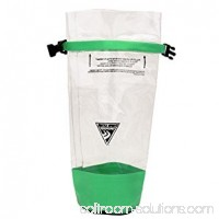 Seattle Sports Glacier Clear Dry Bag, Clear/Lime 554421063