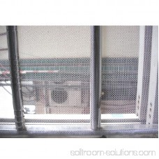 Removable Large Window Screen Mesh Net Insect Fly Bug Mosquito Moth Door Netting