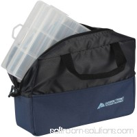Ozark Trail Fishing Tote With Two Utility Trays, Blue/Black 556395215