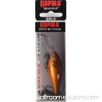 "Rapala Shad Rap Lure Size 05, 2"" Length, 4'-9' Depth, 2 Number 8 Treble Hooks, Crawdad, Per 1   000907821"