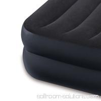 Intex Dura-Beam Pillow Rest Airbed w/ Fiber-Tech Built-In Pump, Twin | 64121E