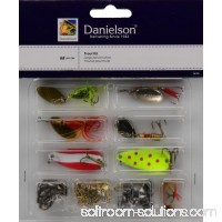 Danielson Trout Kit with Lures and Tackle, 68 Pieces 005190317