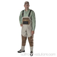 Caddis Men's Deluxe Breathable Stockingfoot Waders - L Stout   563477580
