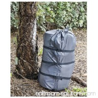 Compression Stuff Sack Lightweight Camping Sleeping Bag Outdoor Cover Pouch Grey